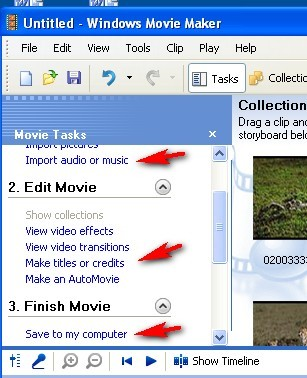 Windows movie maker video editing software